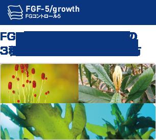 FGF-5に着目した海藻由来の3種フコイダンを含む独自処方